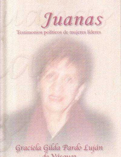 14.a. Testimonio políticos de mujeres líderes 2002