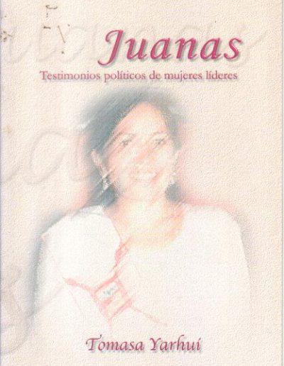 14.b. Testimonio políticos de mujeres líderes 2002