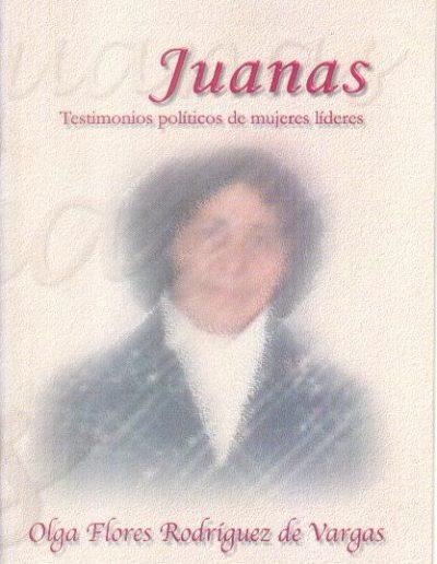 14.c. Testimonio políticos de mujeres líderes 2002