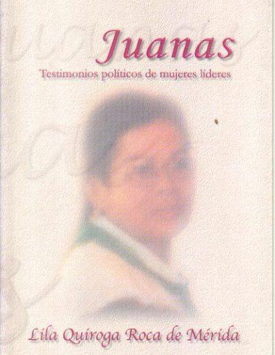 14.d. Testimonios políticos de mujeres líderes 2002