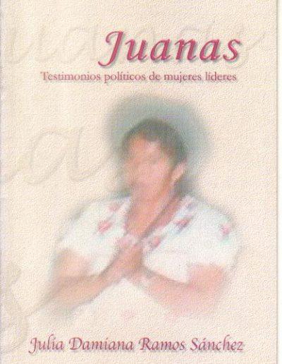 14.e. Testimonio políticos de mujeres líderes 2002