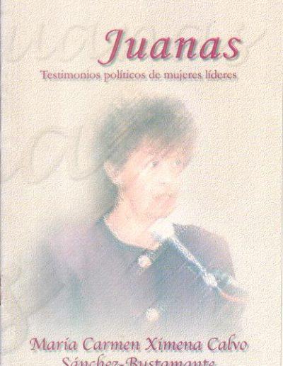 14.f. Testimonio políticos de mujeres líderes 2002