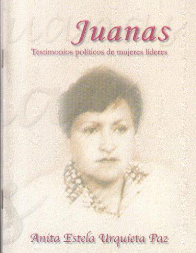 14.g. Testimonios políticos de mujeres líderes 2002