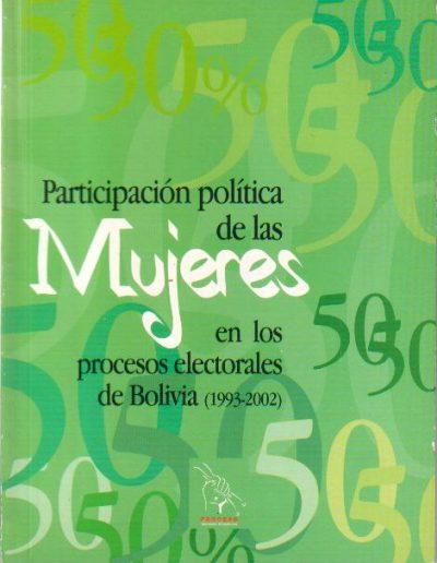 15.c. Tesina Participación política de las mujeres en los procesos electorales de Bolivia 2002