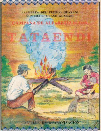 2. Cartilla de alfabetización en guarani 1992