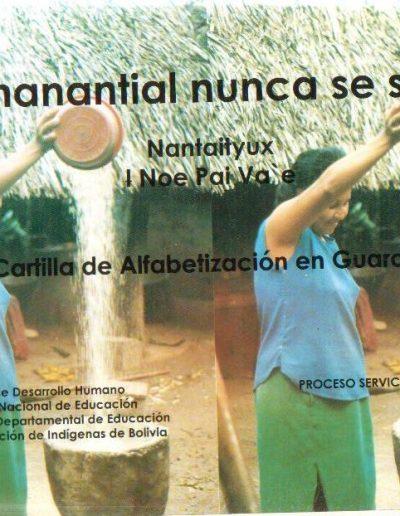 4. Cartilla de alfabetización en gwarayu 1997