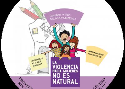 """PROYECTO: """"PROMOVIENDO RELACIONES DE GÉNERO SIN VIOLENCIA EN EL PUEBLO GWARAYO – FASE III"""""""