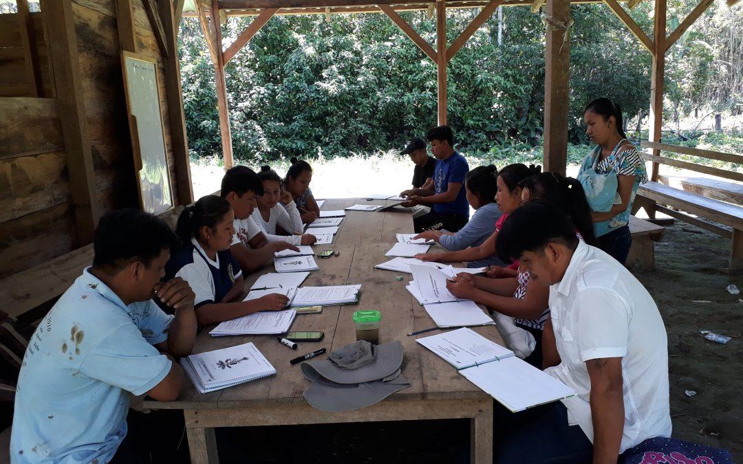 SESIONES EDUCATIVAS CON IDENTIDAD YURAKARÉ EN COMUNIDADES DEL CONIYURA Y CONISUR TIPNIS